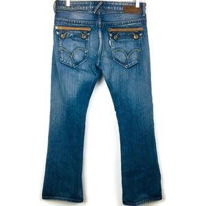 Levi's Silvertab Jeans Slim Boot Flap Pocket 34x32